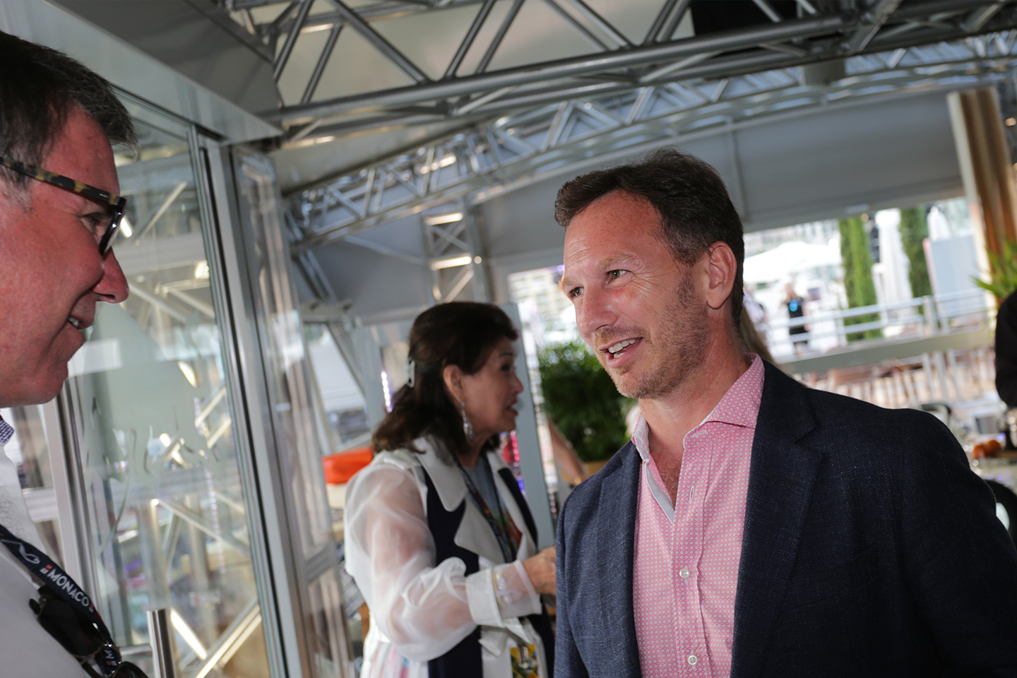 Christian Horner at the Monaco Racing Weekend Reception, 2017.