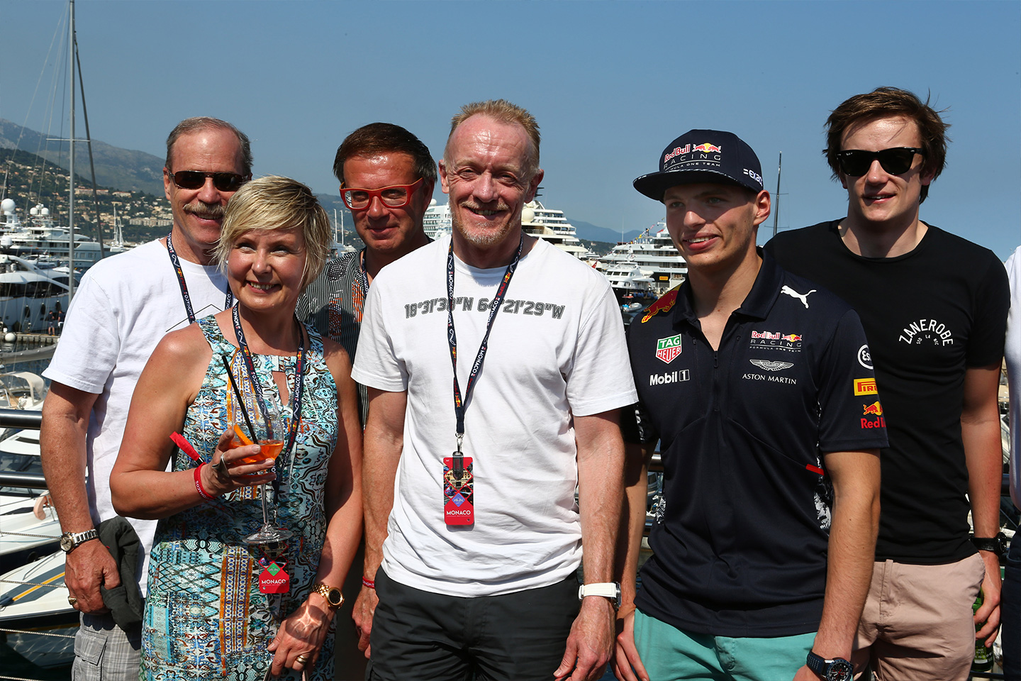 Aston Martin guests at Monaco Race Weekend May 2017