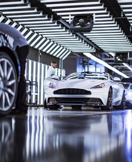 Art Of Living At Home With Aston Martin Behind The Scenes Factory Tour
