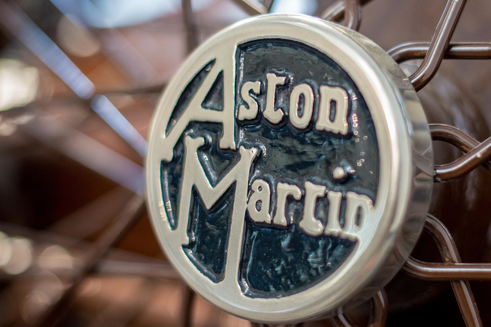 Heritage Aston Martin badge