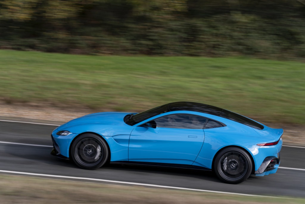 Aston Martin Vantage at Millbrook